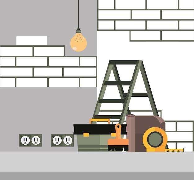 Réparer l'intérieur de la maison