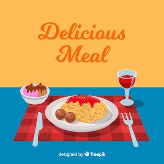 Repas délicieux