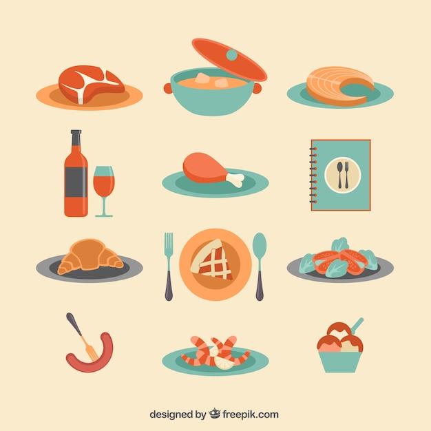 Les repas du restaurant
