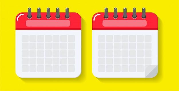 Réplique vide du calendrier.
