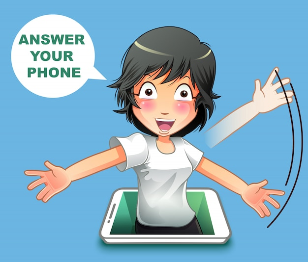 Réponds au téléphone.