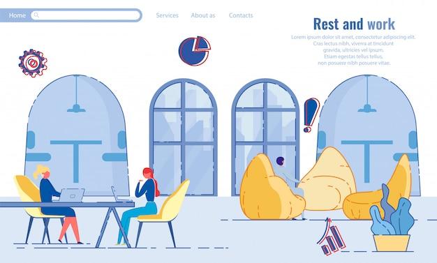Reposez-vous et travaillez dans un bureau confortable avec coin salon.