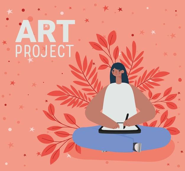 Représentation de projets artistiques