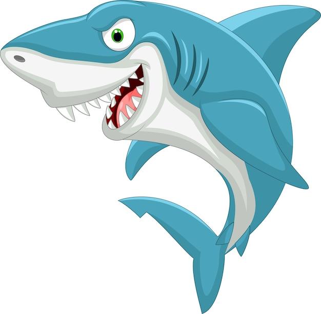 Requin de dessin animé
