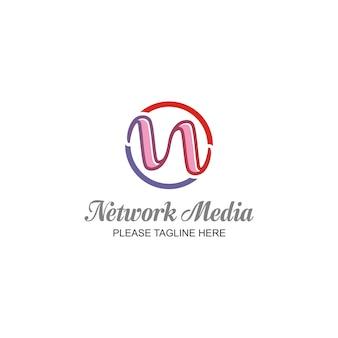 Réseau media logo