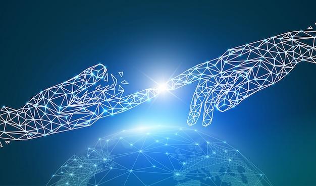 Réseau mondial ou technologie de communication