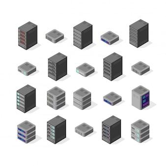 Réseau de serveur de données