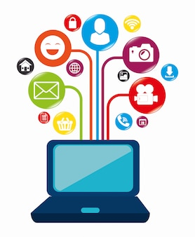 Réseau social et média