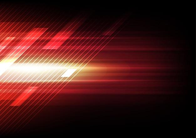 Réseau de technologie abstraite fond internet haute vitesse