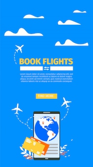 Réservation de billets d'avion en ligne
