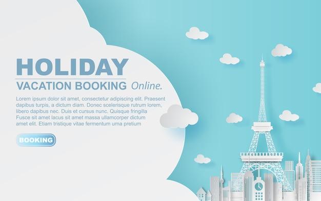 Réservation hotel vacances paris ville,