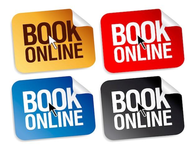 Réservez des autocollants en ligne pour le web.