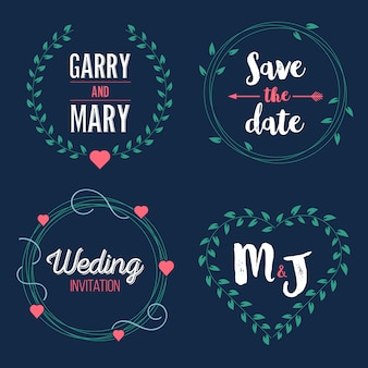 Réservez le mariage de date