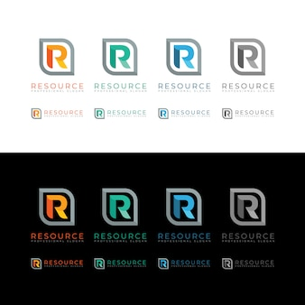Resource r letter logo