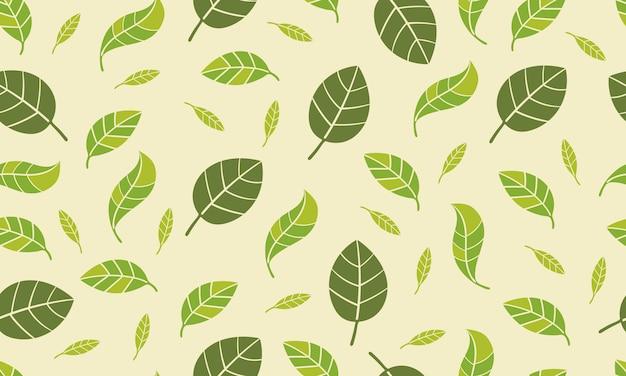 Ressort à lames transparente motif frais couleur verte nature