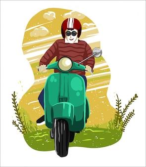 Ressort de scooter