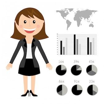 Ressources humaines sur l'illustration vectorielle fond blanc