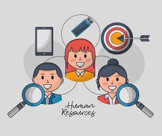 Ressources humaines liées