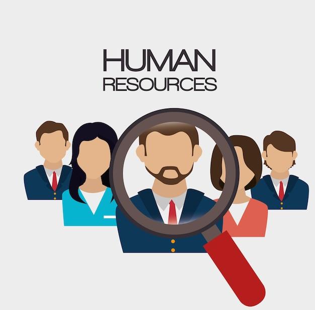 Ressources humaines, recrutement, recherche, conception, isolé