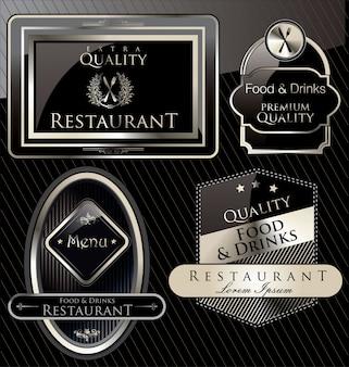Restaurant bannière de luxe