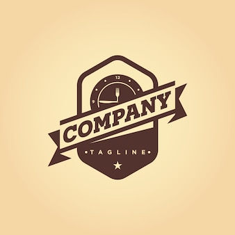 Restaurant, café, bistro vector emblème logo design
