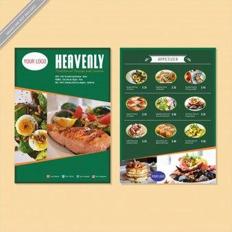 Restaurant Design de Flyer