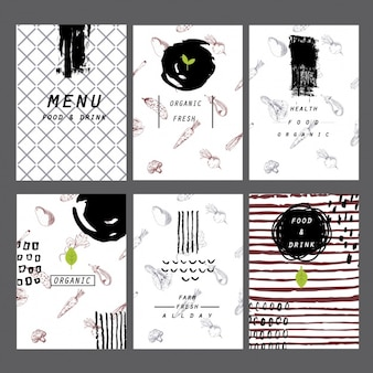 Restaurant menu collection