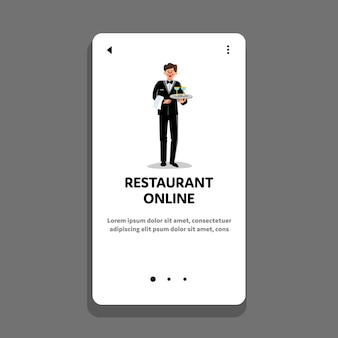 Restauration en ligne service de livraison de boissons