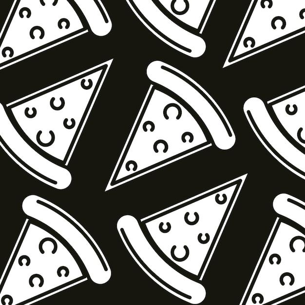 Restauration rapide de pizzas