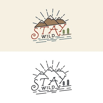 Restez sauvage logo