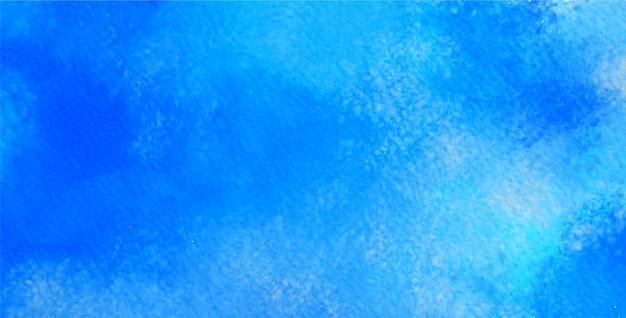Résumé de l'aquarelle en couleur bleue