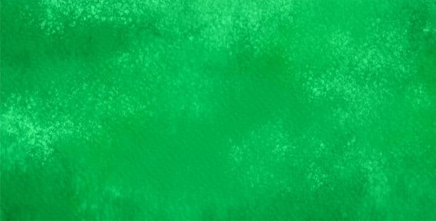 Résumé de l'aquarelle en couleur verte