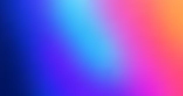 Résumé arrière-plan flou dégradé coloré. conception de vecteur de toile de fond arc-en-ciel. composition colorée moderne.