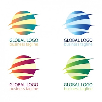 Résumé ballon paquet de logo