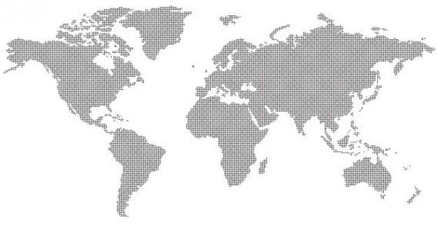 Résumé carte du monde