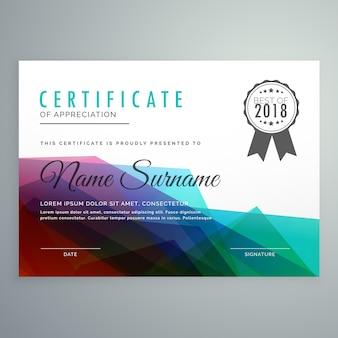 Résumé coloré certificat certificat diplôme fond d'écran