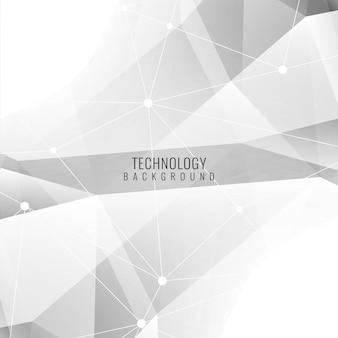 Résumé couleur grise fond technologique moderne