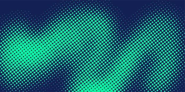 Résumé et créatif du modèle de fond de points de demi-teintes circulaires