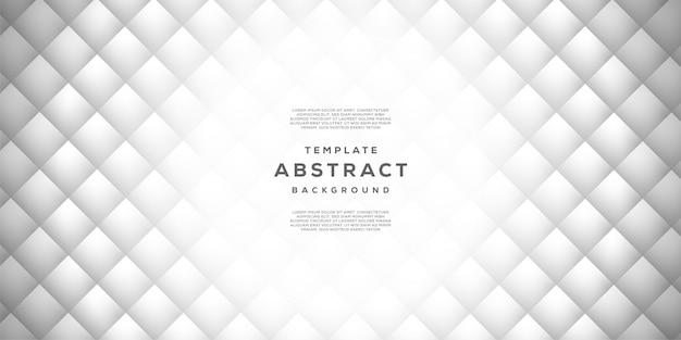 Résumé créatif tendance de fond gris et blanc moderne