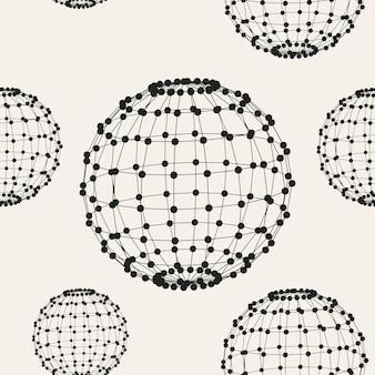 Résumé creative concept vecteur de fond de formes géométriques les lignes reliées aux points. style de conception polygonale pour les entreprises. illustration vectorielle eps 10 pour votre conception.