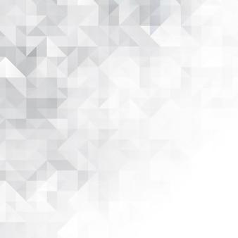 Résumé avec design monochrome low poly