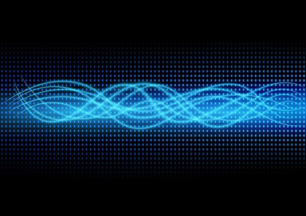 Résumé des données scientifiques à l'avenir et de la technologie de fond pour les entreprises.