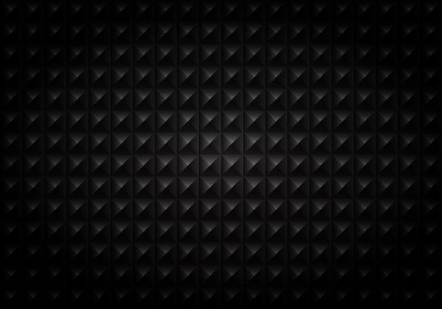 Résumé du motif géométrique carré noir dégradé