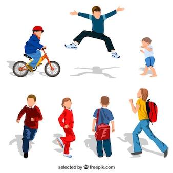Résumé des enfants qui jouent