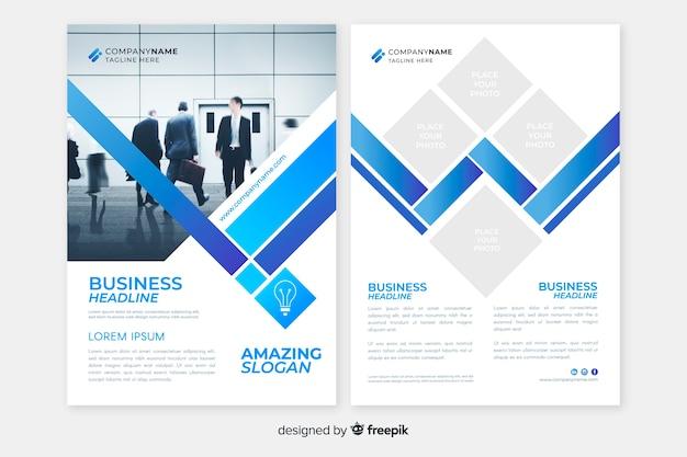 Résumé de flyer business template