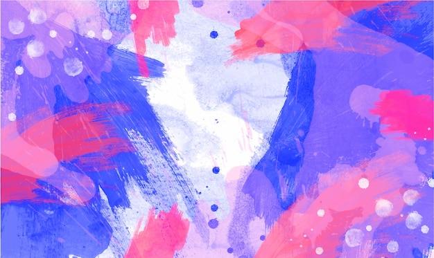 Résumé fond d'aquarelles colorées