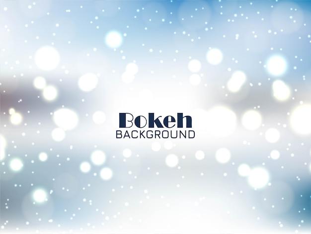 Résumé fond bleu bokeh brillant