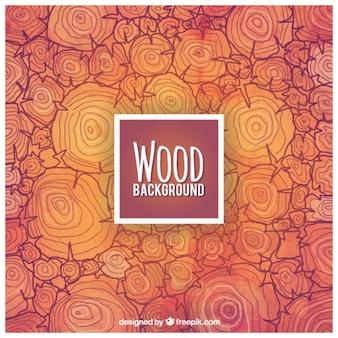 Résumé de fond de bois