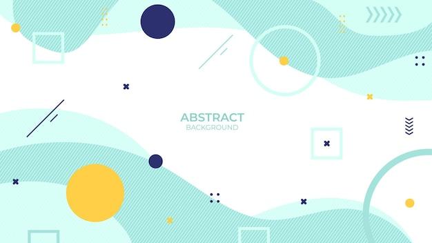 Résumé de fond de conception couleur douce avec objet géométrique, design décoratif doux dans un style abstrait