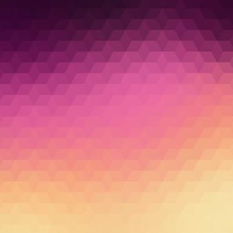 Résumé de fond dans les tons violet et rose